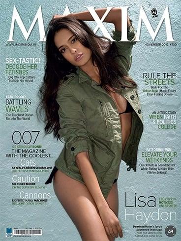 Lisa Haydon on Maxim
