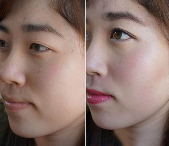 Make facial pores smaller