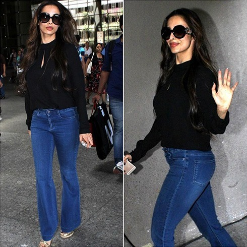 Malaika Arora airport fashion