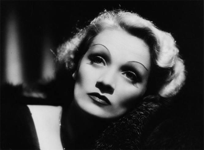 Marlene Dietrich makeup