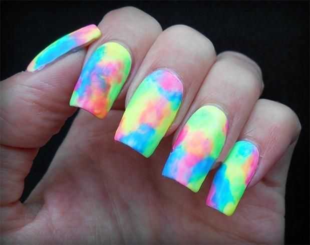 Neon Nail Art Ideas