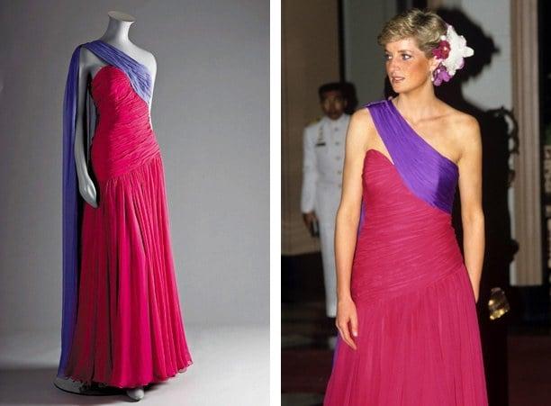 Princess Diana expensive dress