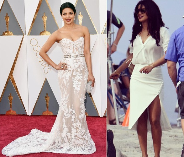Priyanka Chopra in white