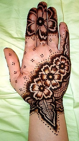 Flower Mehendi Design
