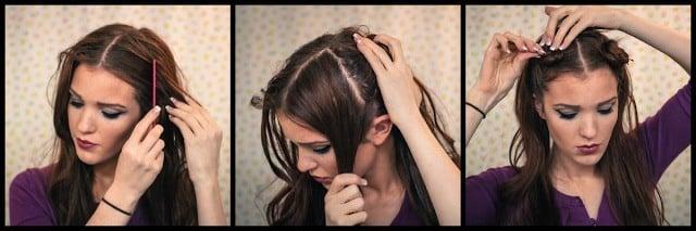 Schritt für Schritt Retro Frisuren: Leitfaden für dieses Vintage-Haar