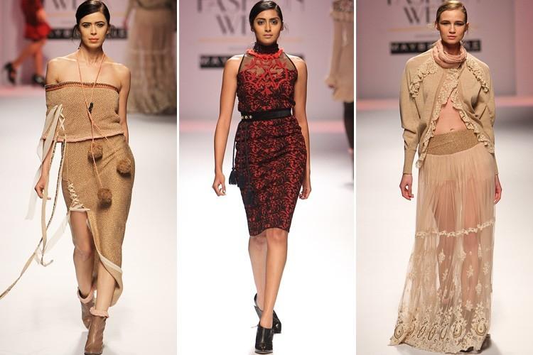 Rina Dhaka at 2016 Amazon India Fashion Week