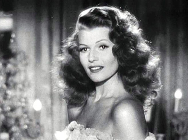Rita Hayworth makeup