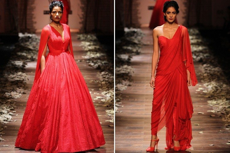 Shantanu Nikhil Red Dress