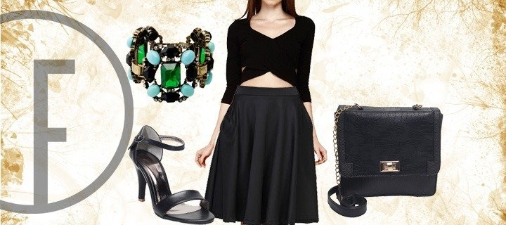 Show Your Classy Side In All Black Everything