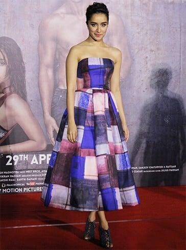 Shraddha Kapoor in Aishaa Ramadan dress