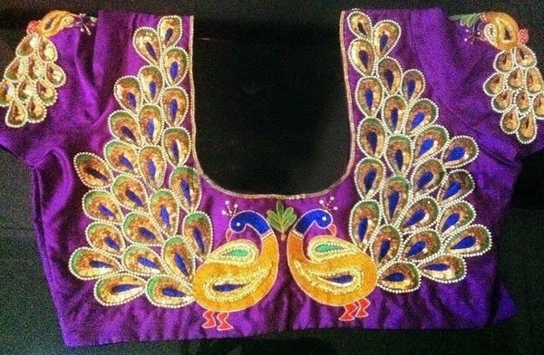 Maggam work blouse designs to get inspired from
