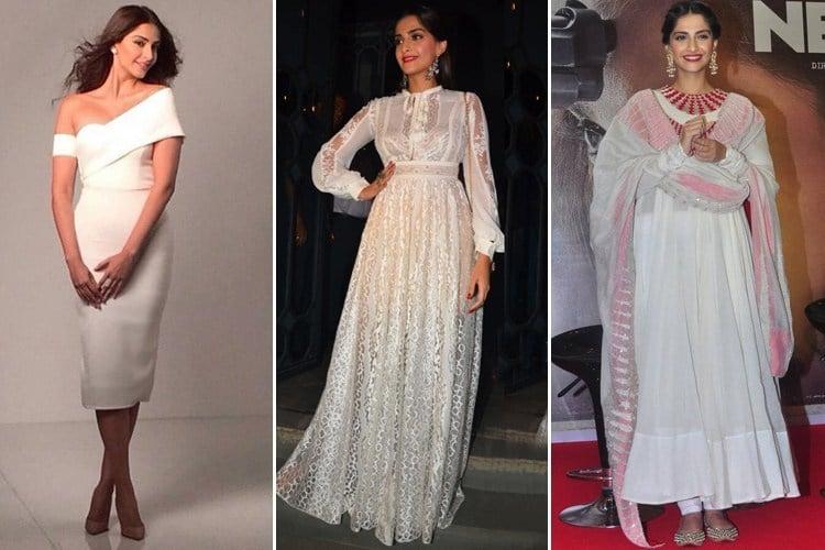 Sonam Kapoor in white
