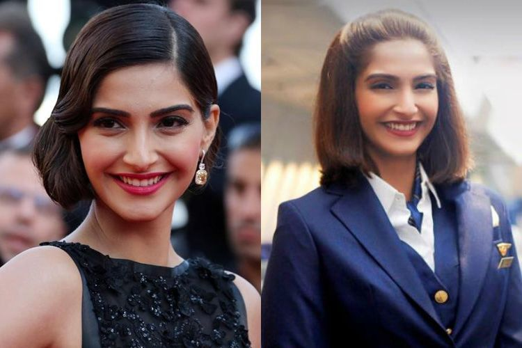 Sonam Kapoor In Short Hair