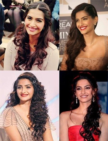 18 Sonam Kapoor HairStyles With Names