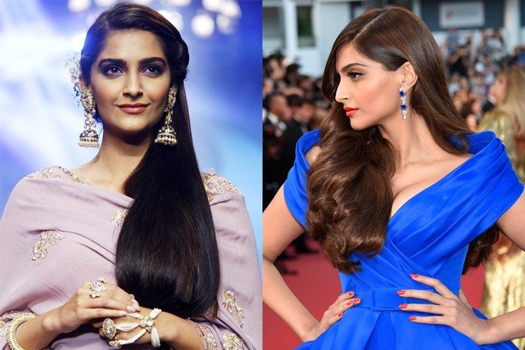 18 Sonam Kapoor HairStyles With Names .
