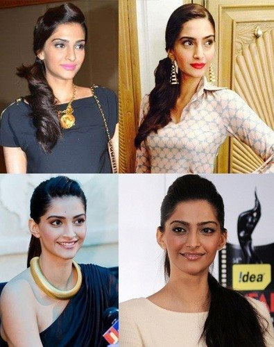 Sonam Kapoor Hair Color
