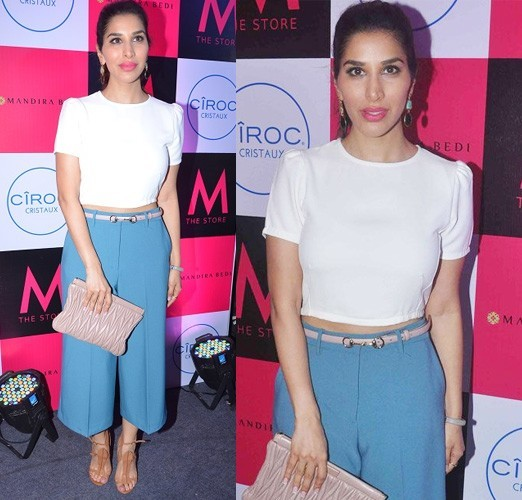 Sophie Choudry in Madison and Zara