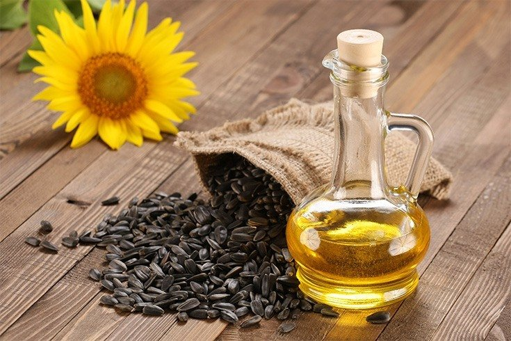 Sunflower oil for ear