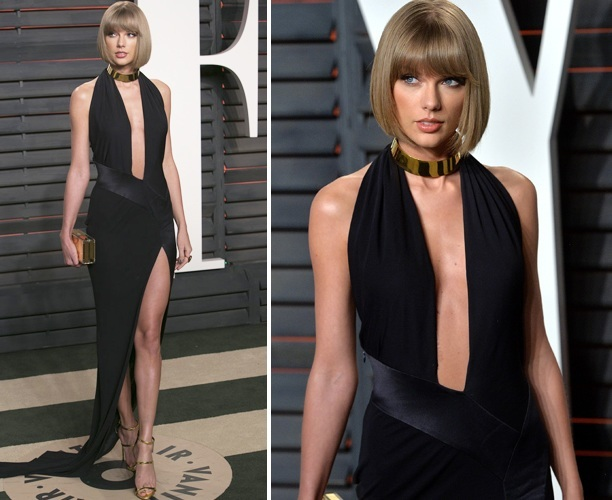 Taylor Swift at 2016 Vanity Fair Oscars Party