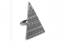 Tribal Triangle Ring