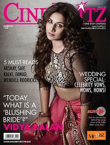 Vidya Balan Magazine Cover Photos