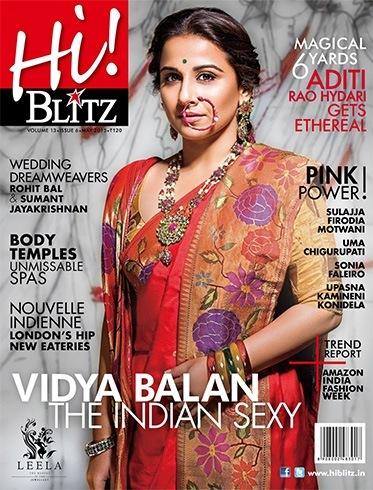 Vidya Balan Magazine Cover Photoshoot