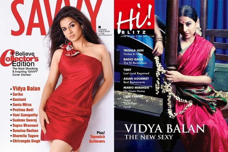Vidya BalanMagazine Cover