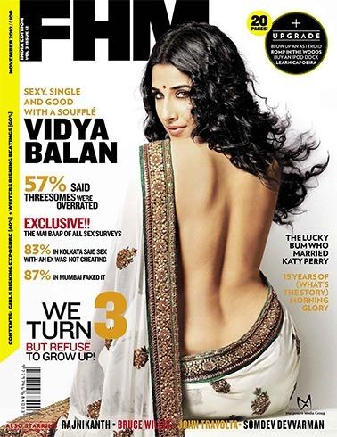 Vidya Balan on FHM