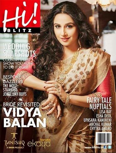 Vidya Balan on Hi Blitz
