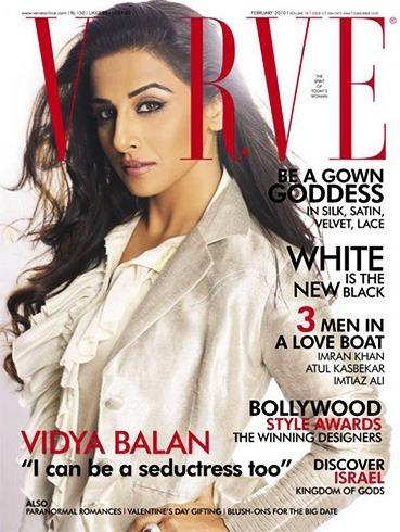 Vidya Balan on Verve