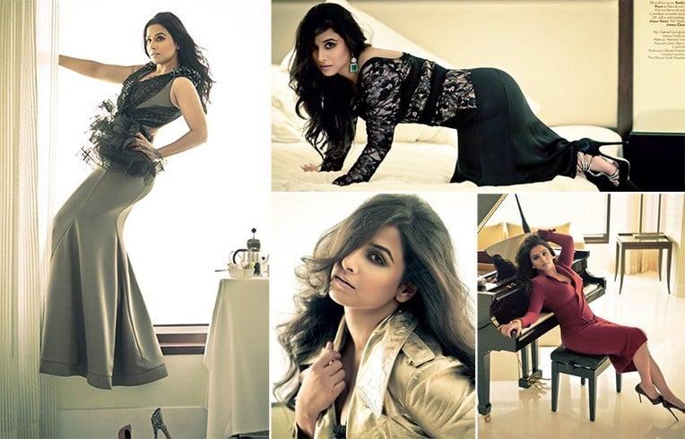 Vidya Balan vogue photoshoot