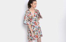 Women Multicolor Printed Dress