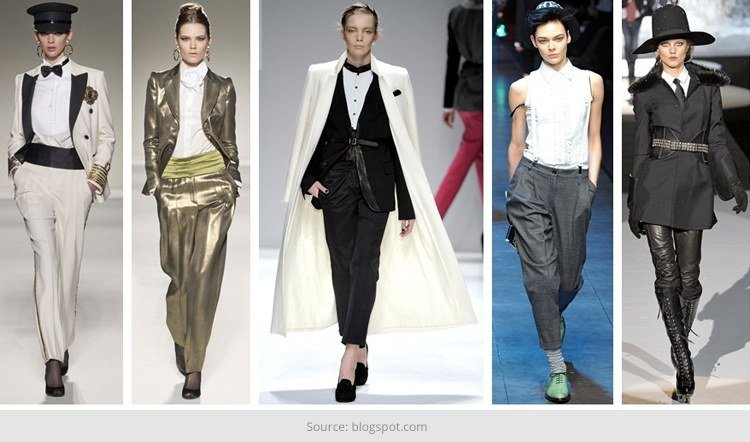 Androgyny Fashion