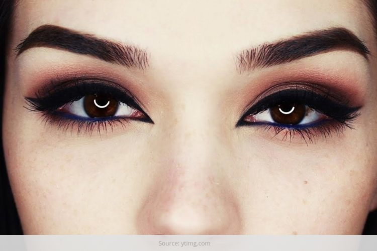 very seductive arabic eye makeup looks for the summer