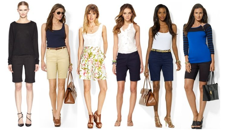 Bermuda Shorts for Womens