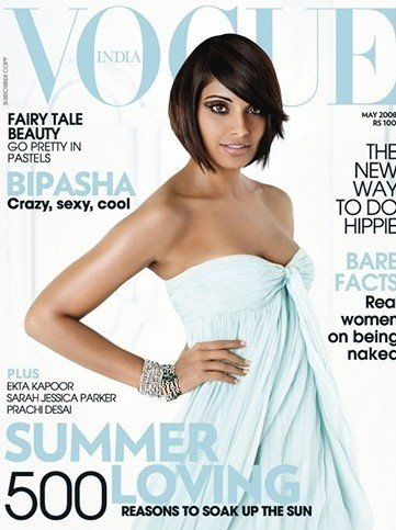 Bipasha Basu Magazine Cover Of Vogue India May 2008