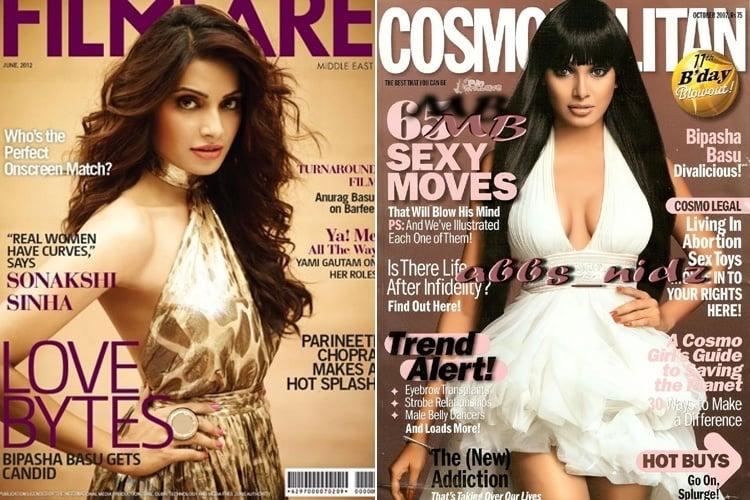 Bipasha Basu Magazine Covers