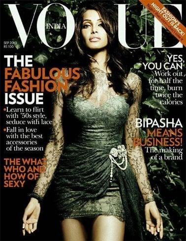 Bipasha Basu Vogue India September 2010