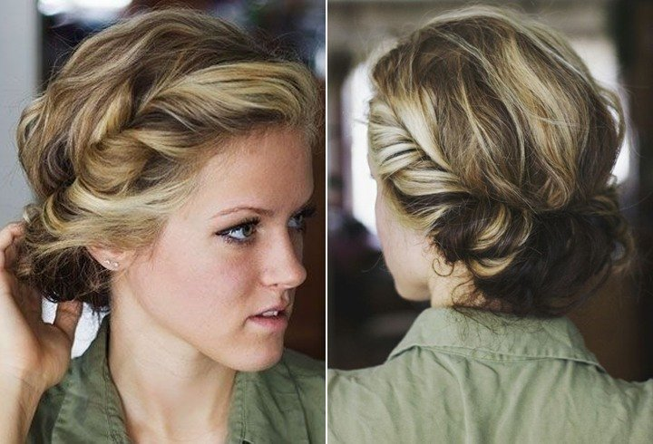 Chic Bohemian Hairstyles For Short Hair