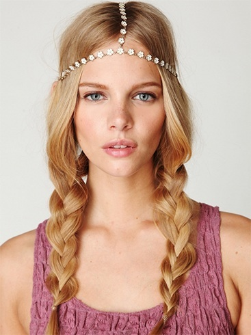 Chic Bohemian Pigtail Hairstyles For Long Hair