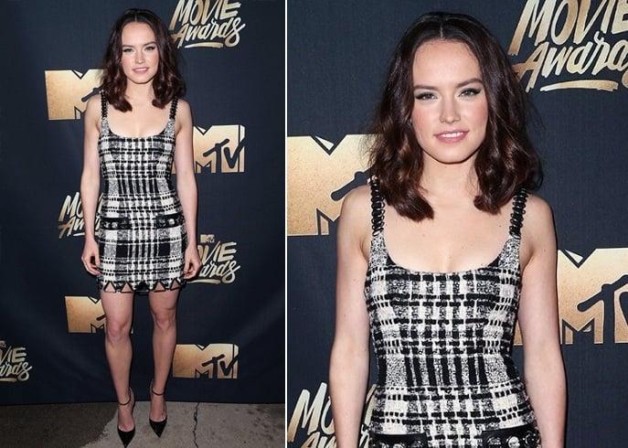 Daisy Ridley At MTV Movie Awards