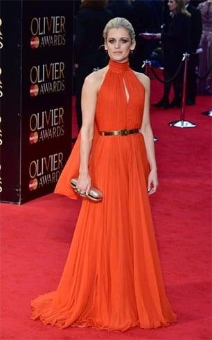 Denise Gough at Olivier Awards