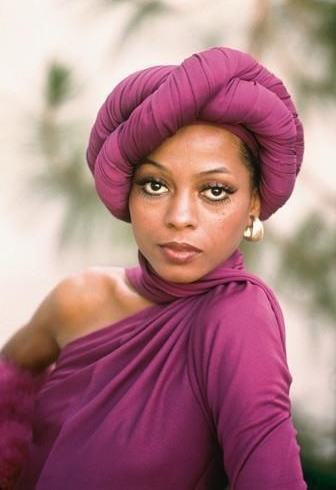 Diana Ross head wrap