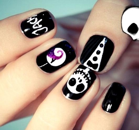 Easy Halloween Nail Ideas