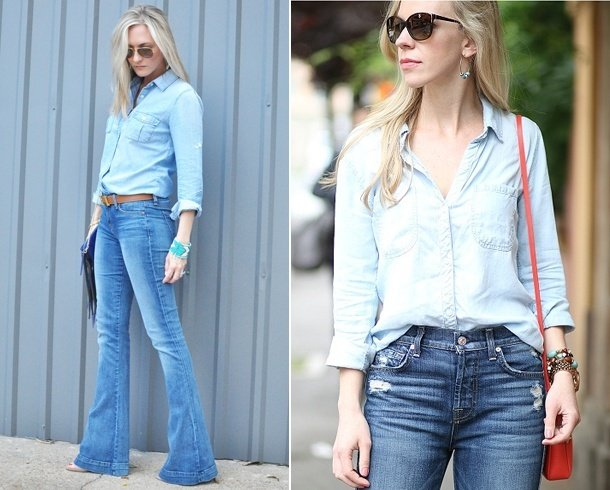 Flare Jeans Fashion For Womens