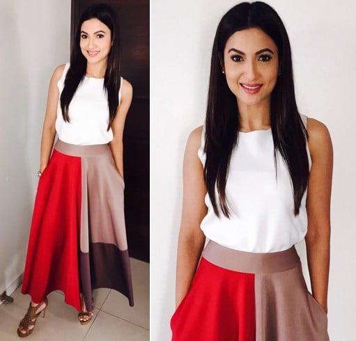 Gauhar Khan Fashion Style