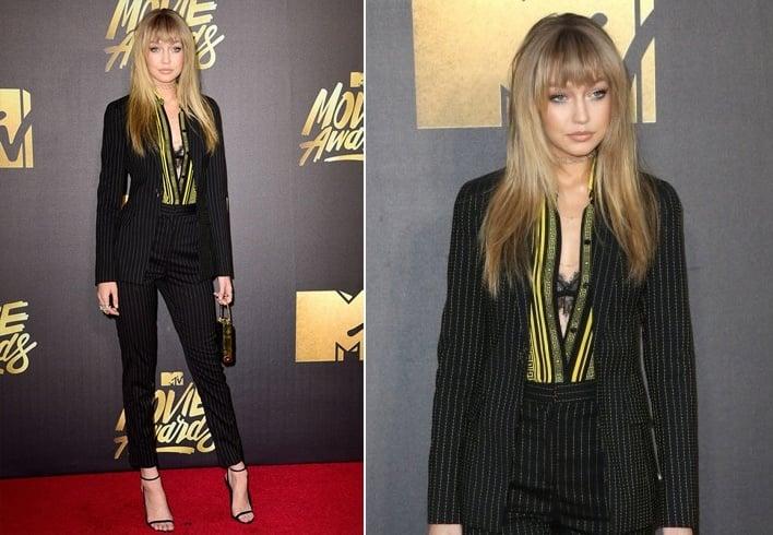 Gigi Hadid At MTV Movie Awards