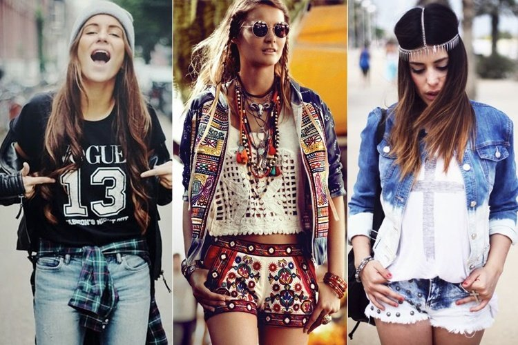 play dirty is the fashion code of a hipster girl