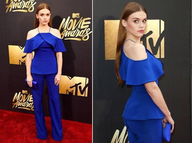 Holland Roden At MTV Movie Awards