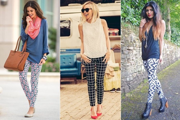 How To Wear Patterned Leggings